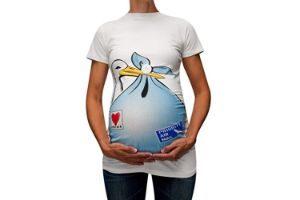 camiseta para embarazadas