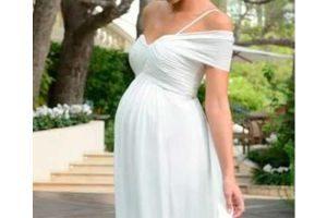 vestido novia para embarazada